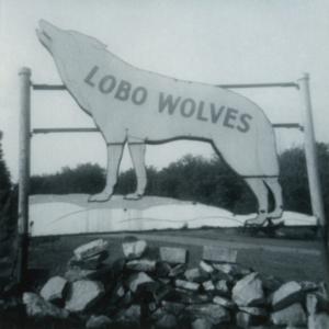 Lobo Wolves Sign at the Lobo Wolf Park near Kane [Photograph]