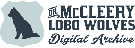 Dr. McCleery Lobo Wolves Digital Archive
